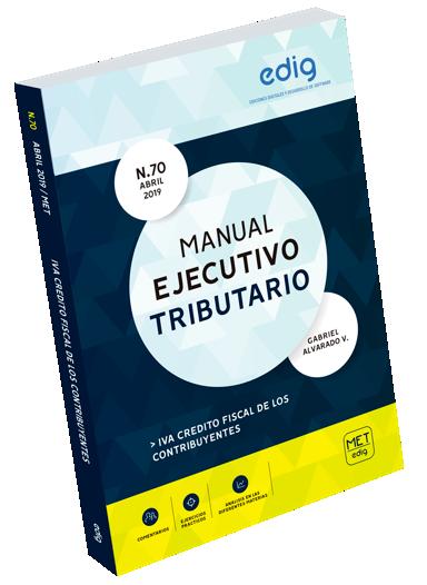 Manual Ejecutivo Tributario Proyecto de Ley de Modernizacion a la Legislacion Tributaria