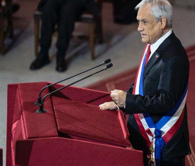 Reforma de pensiones, tributaria y modernización laboral fueron parte de las materias abordadas por el Presidente Piñera