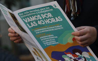 Un 74% de los chilenos aprueba la idea de reducir la jornada laboral
