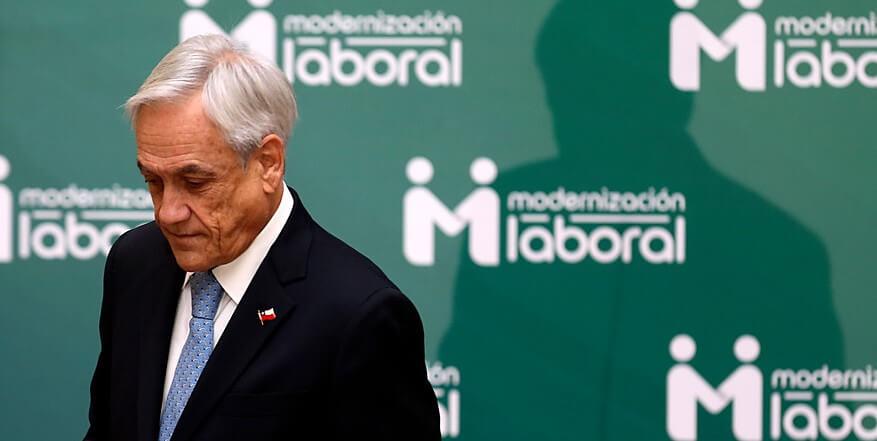 Sebastián Piñera en contra de proyecto laboral de Vallejo