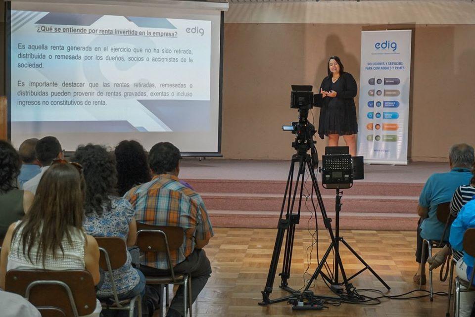 Edig y el Colegio de Contadores de Chile se unen para realizar charlas laborales y tributarias