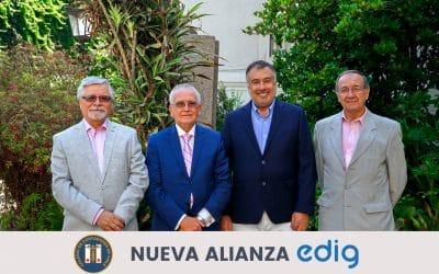 Alianza de Edig junto al Colegio de Contadores de Chile
