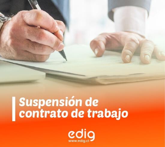 suspension de contrato de trabajo ley de proteccion al empleo