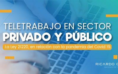 Teletrabajo en sector privado y público
