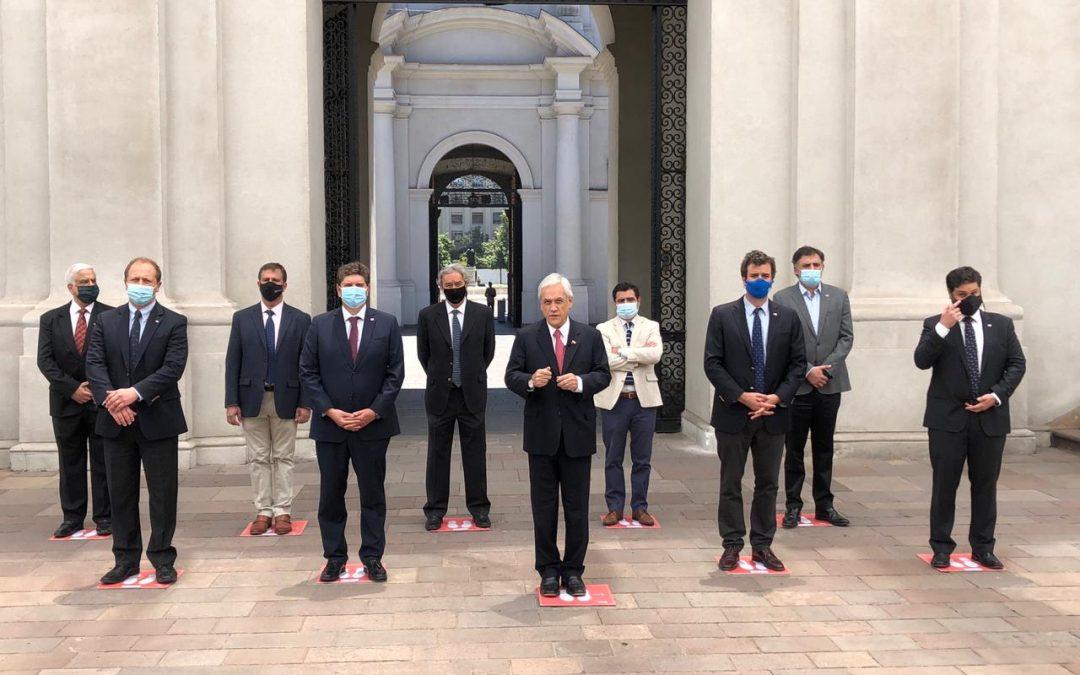 Fogape Reactiva: Presidente Piñera promulga ley para ayudar a las Pymes del país