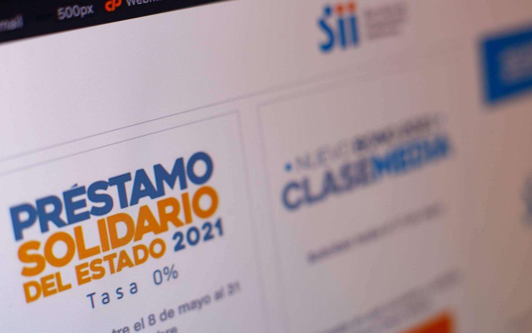 Postulación para el Préstamo Solidario ya está disponible en el SII