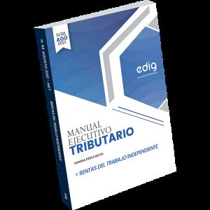 Monografía tributaria que explica las rentas del trabajo independiente