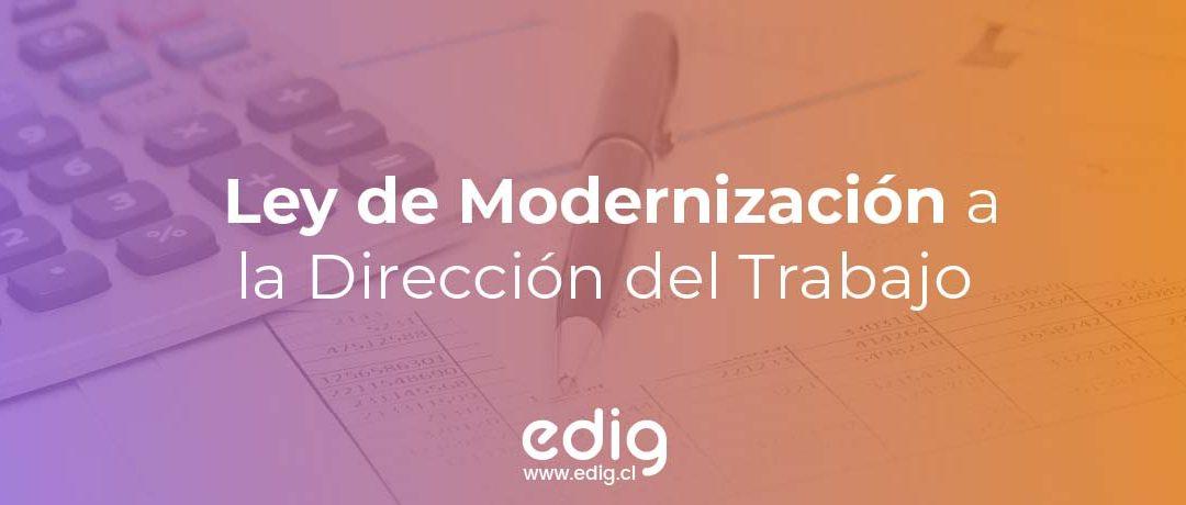 ¿Qué es la Ley de Modernización de la Dirección del Trabajo?